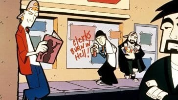 Clerks animated series
