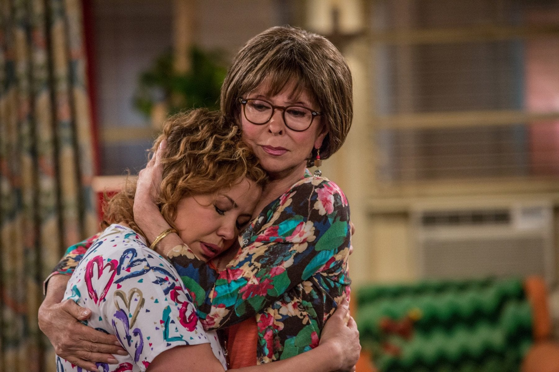 Lydia and Penelope share a touching mother-daughter embrace