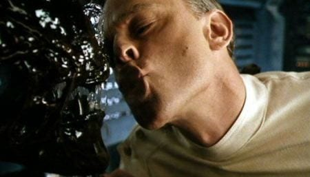 Brad Dourif teasing a xenomorph which ... isn't a great idea
