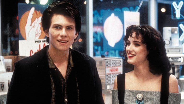 Christian Slater (J.D.) and Veronica (Winona Ryder) proved to be the