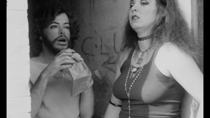 Glue sniffers in Multiple Maniacs