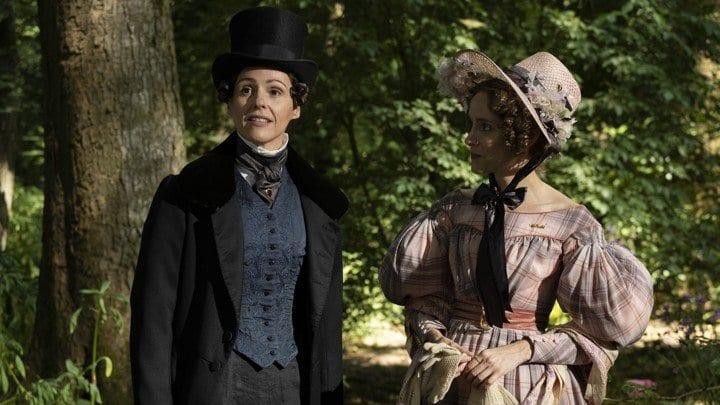 Anne Lister (Suranne Jones) courting Ann Walker (Sophie Rundle) in HBO's Gentleman Jack.