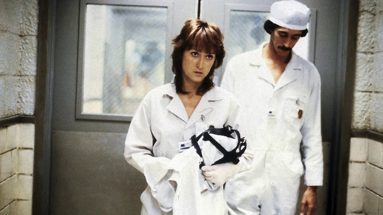 Meryl Streep as Karen Silkwood in the 1983 movie Silkwood