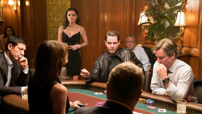 Molly Bloom oversees her poker game