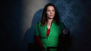 Jessica Hynes as Edith Lyons in the BBC & HBO show Years and Years