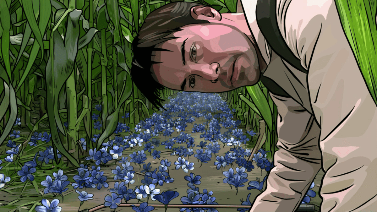 The user becomes the used in the end of A Scanner Darkly.