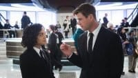 "Tessa Thompson and Chris Hemsworth star in ""Men in Black: International"""