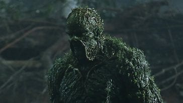 Derek Mears (Twin Peaks) as the Creature from the 'things' in Swamp Thing.