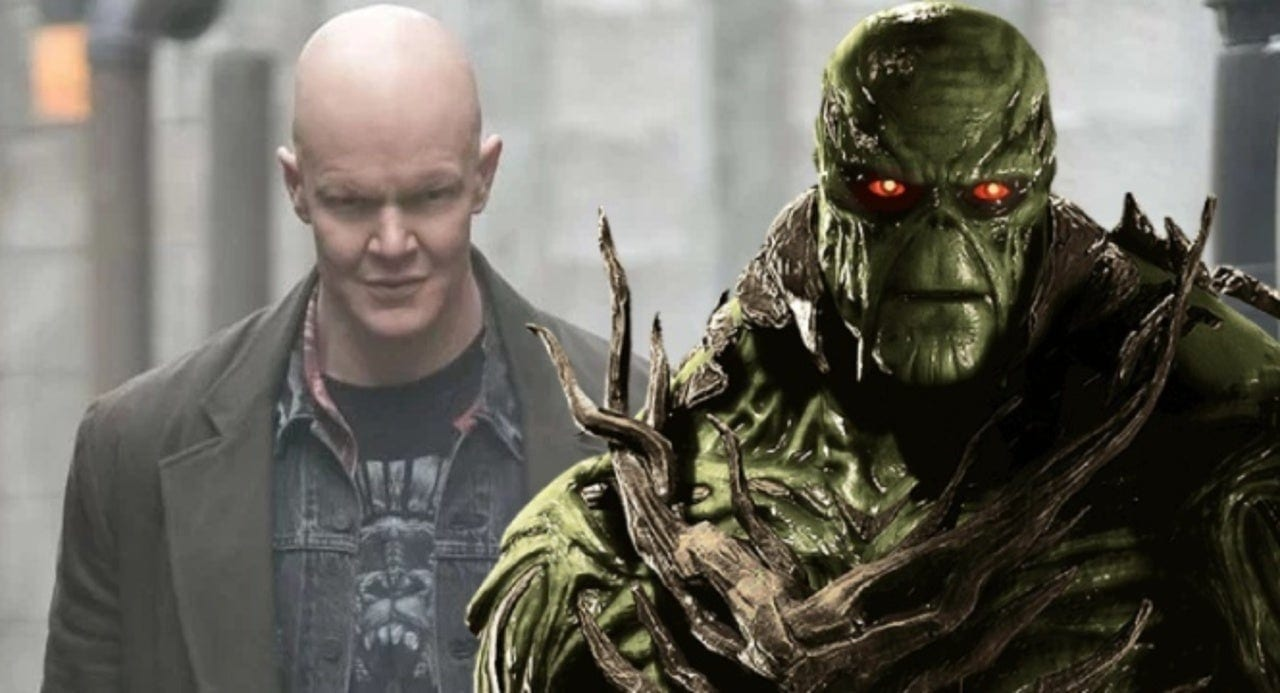 Derek Mears in the flesh and out of his Swamp Thing makeup.