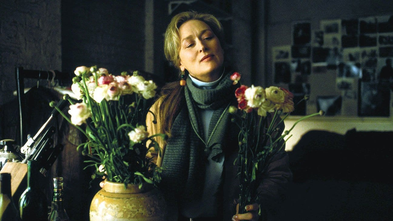Meryl Streep as Clarissa Vaughan in The Hours