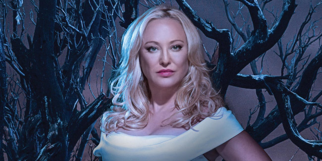Virginia Madsen brings some gravitas to her vampy performance as Marais matriarch Maria Sunderland.