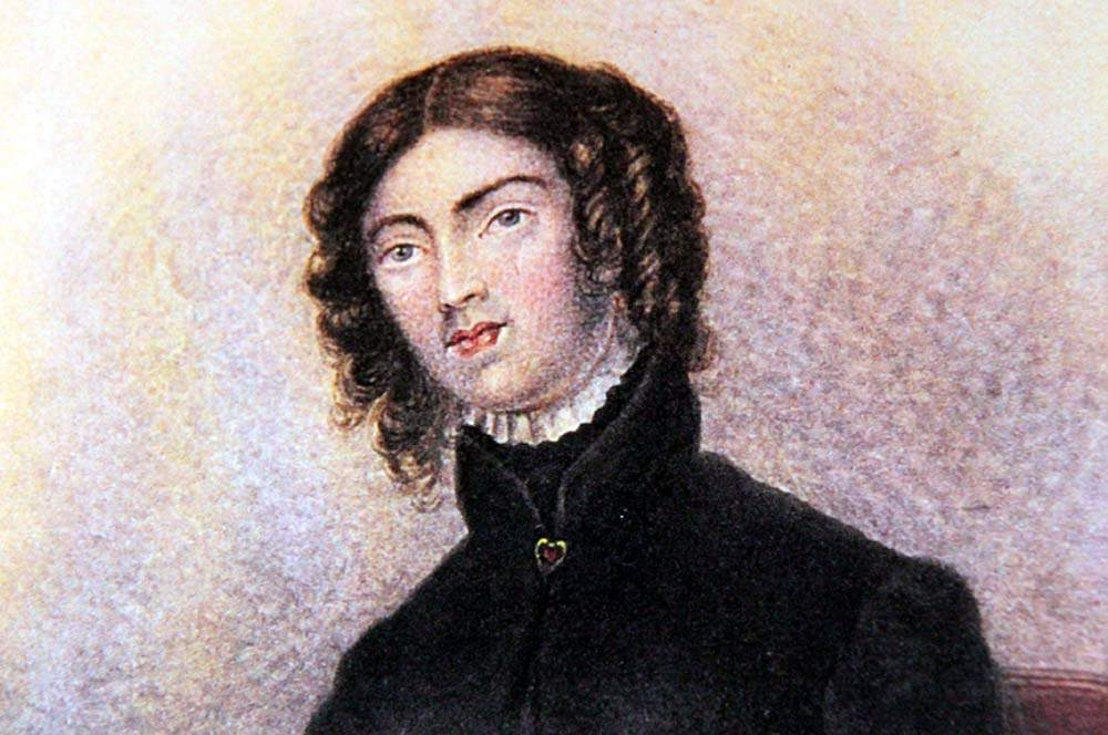 A portrait of Anne Lister as a teenager.