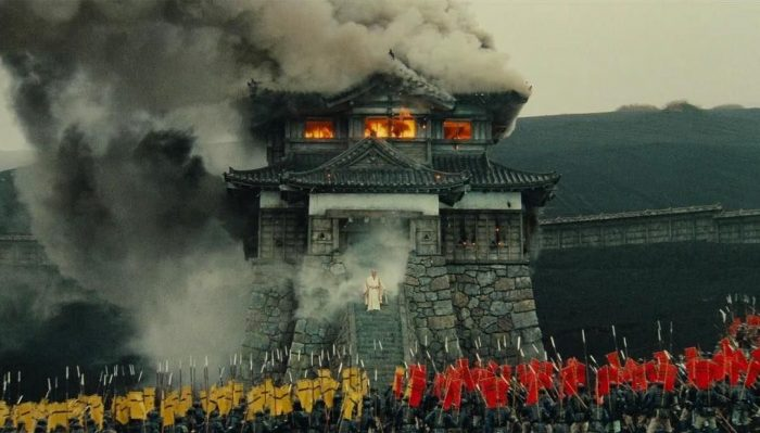 A burning castle and loads of extras in Kurosawa's Ran