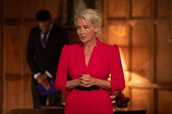 Emma Thompson as Vivienne Rook in the BBC and HBO show Years and Years