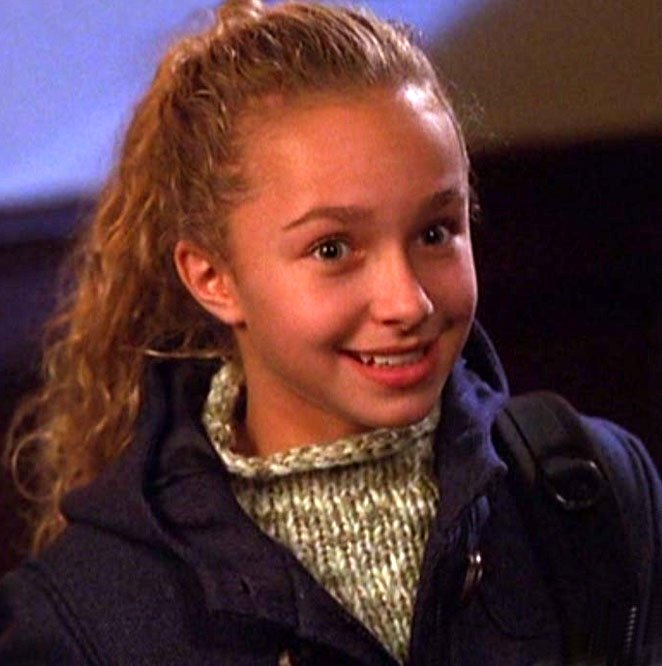 Hayden Panettiere played Maddie Harrington on Ally McBeal.