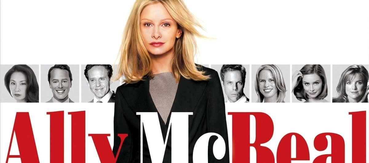 The box art for the Ally McBeal complete series box set.