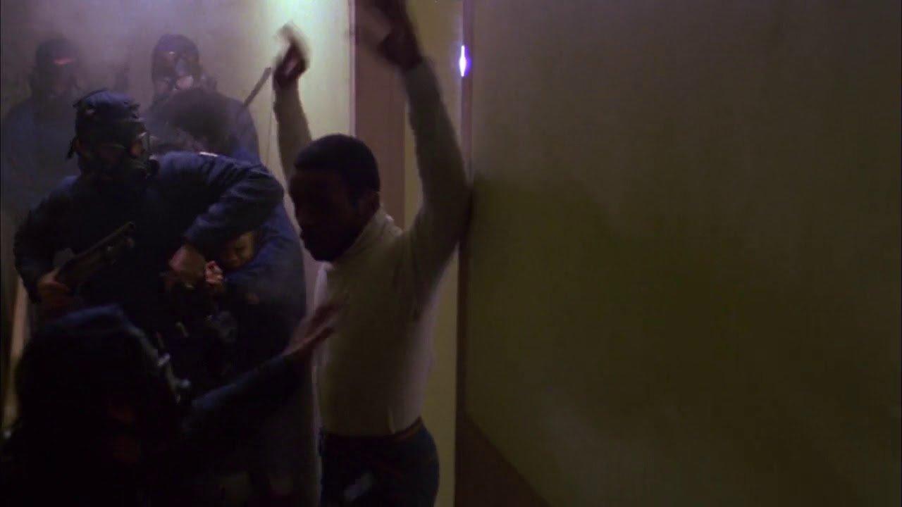 SWAT team raids urban housing development in original Dawn of the Dead.