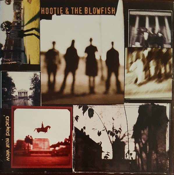 The Hootie and the Blowfish album cover for Cracked Rear View is a picture collage in and out of focus.