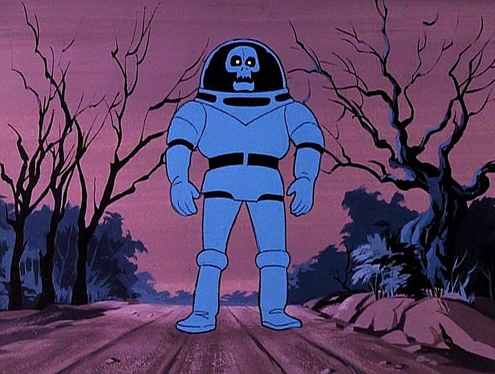 The Spooky Space Kook from Scooby Doo Where Are You?