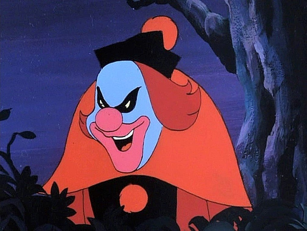 Ghost Clown in Scooby Doo, Where Are You? Bedlam In The Big Top episode