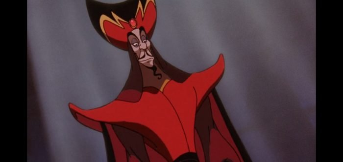 Jafar looks disapproving