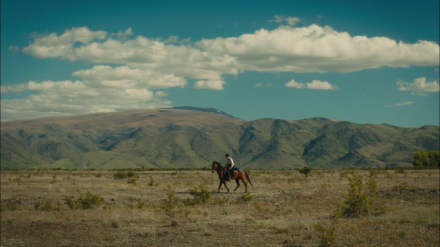 Jay Cavendish is quite alone out in the untamed lands in Slow West