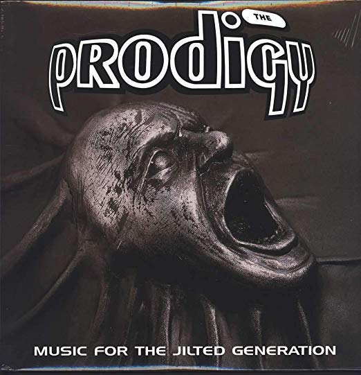 The album cover for Music For The Jilted Generation, by The Prodigy.
