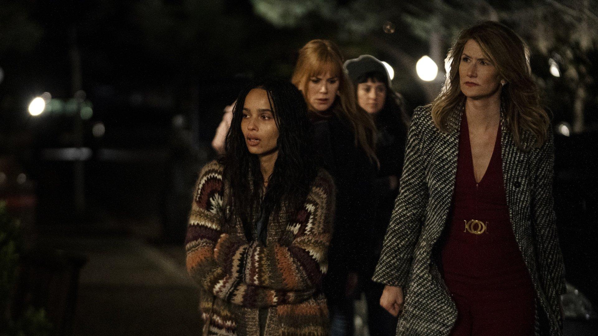 Bonnie, Celeste, Jane, and Renata in the season two Big Little Lies finale