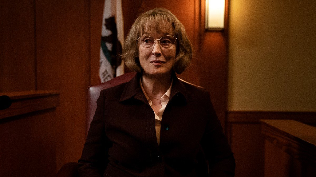 Meryl Streep as Mary Louise Wright in the Big Little Lies finale
