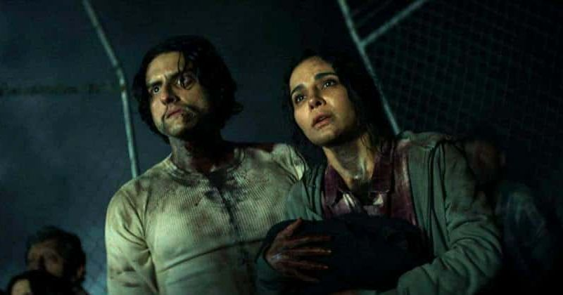 Santo (Richard Cabral) and Marisol (Martha Higareda) make the dangerous trek from Mexico into the U.S. in Culture Shock.