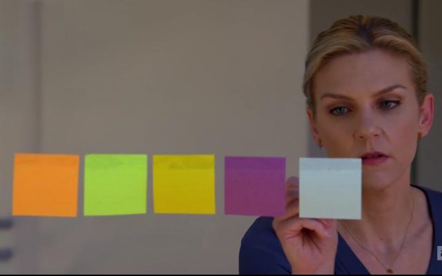 """Kim hustles to bring in a big client in """"Rebecca"""""""