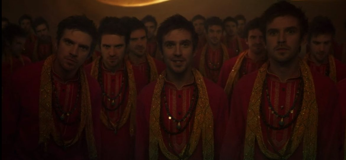 "Multiple versions of David say ""I am Legion"""