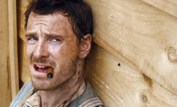 Michael Fassbender in Slow West