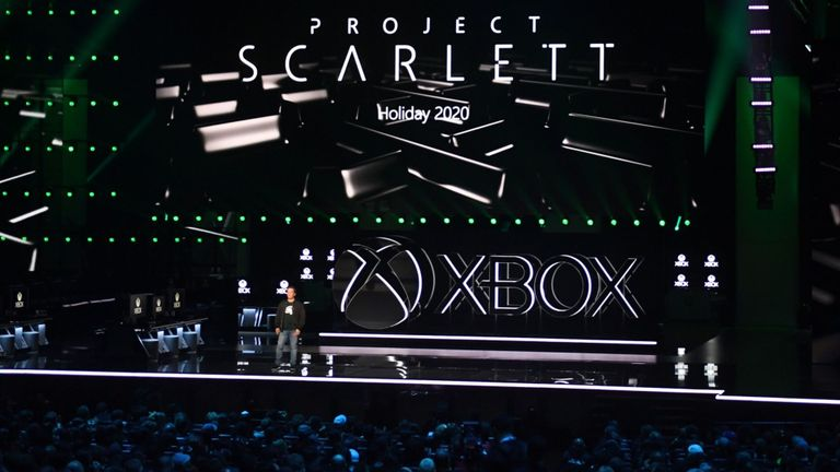 XBox Project Scarlett reveal at E3 2019