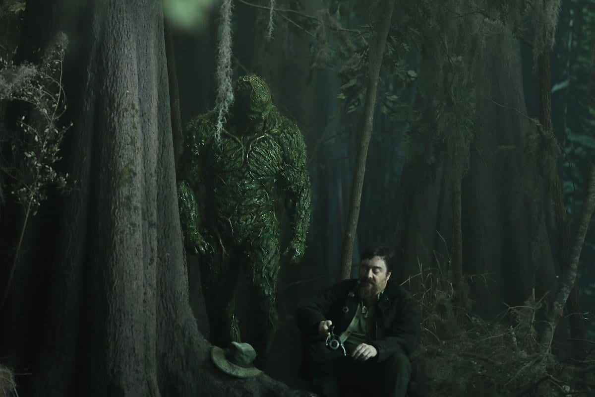 Macon Blair guests stars in this week's episode of Swamp Thing.