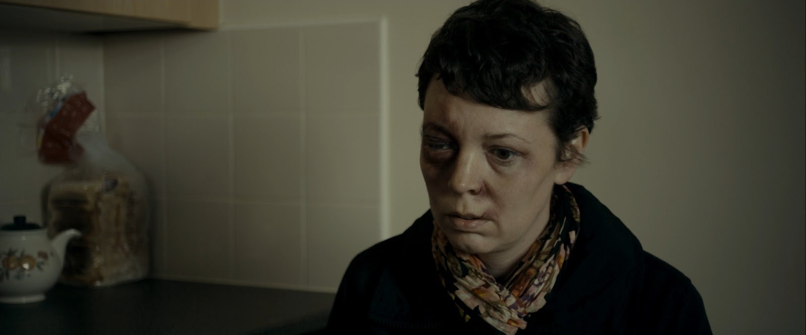 Olivia Colman as Hannah in the movie Tyrannosaur