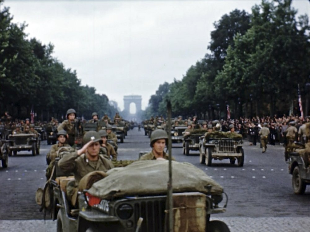 The liberation of Paris seen live in D-Day to Berlin