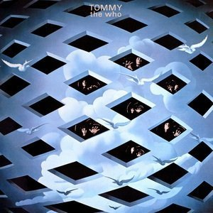 The cover of The Who album 'Tommy'