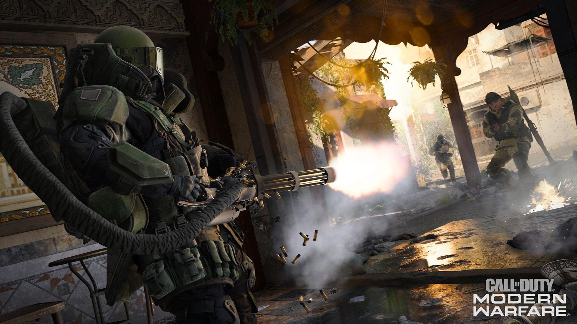 Still from Clal of Duty: Modern Warfare
