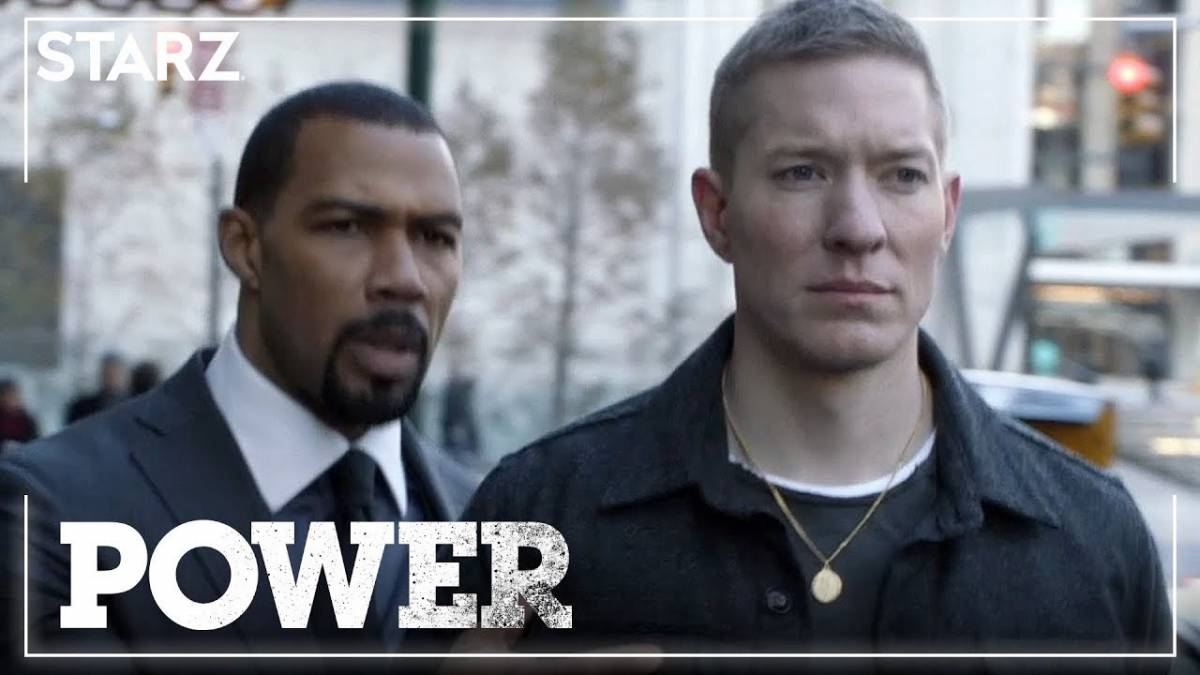 Omari Hardwick and Joseph Sikora star as Ghost and Tommy in the final season of Power