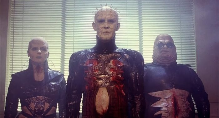 Pinhead, Female Cenobite and Butterball Cenobite