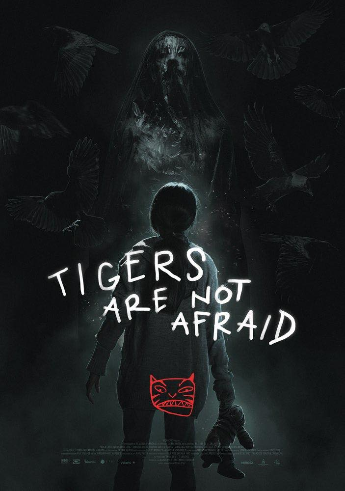 Tigers Are Not Afraid US Poster