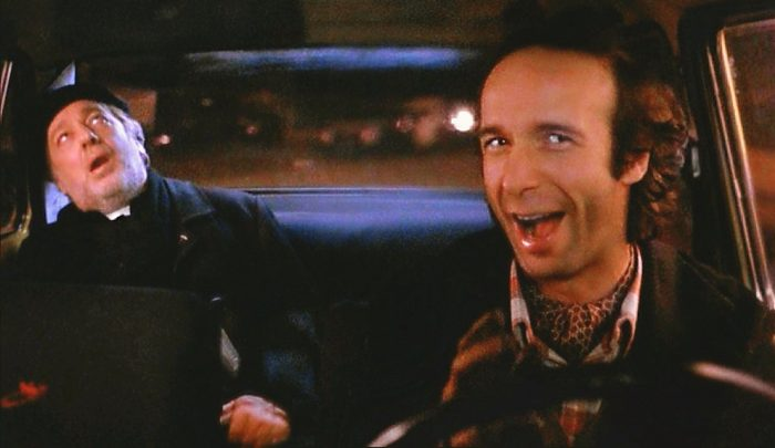 Gino (Roberto Benigni) an Italian cab driver shocks his passenger (Paolo Bonacelli , a priest with tales of his sexual history