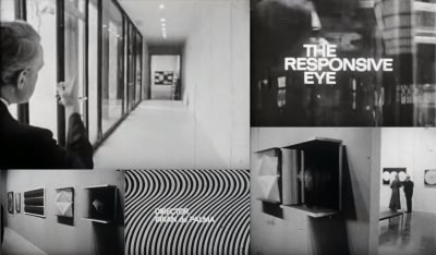 In his early short documentary The Responsive Eye, Brian de Palma captures the MOMA's iconic optical art exhibit.