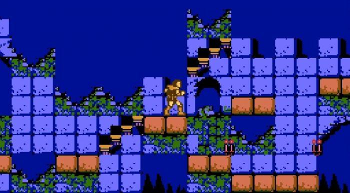 Simon gazes at an unreachable stairway leading to nowhere.