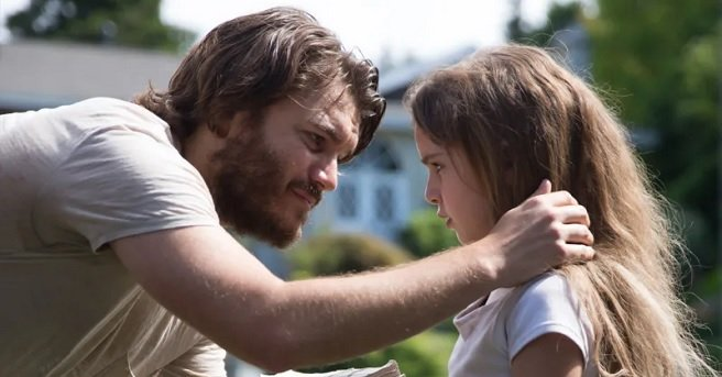 Emile Hirsch in 2019s Freaks comforting a little girl by putting his arm on her shoulder