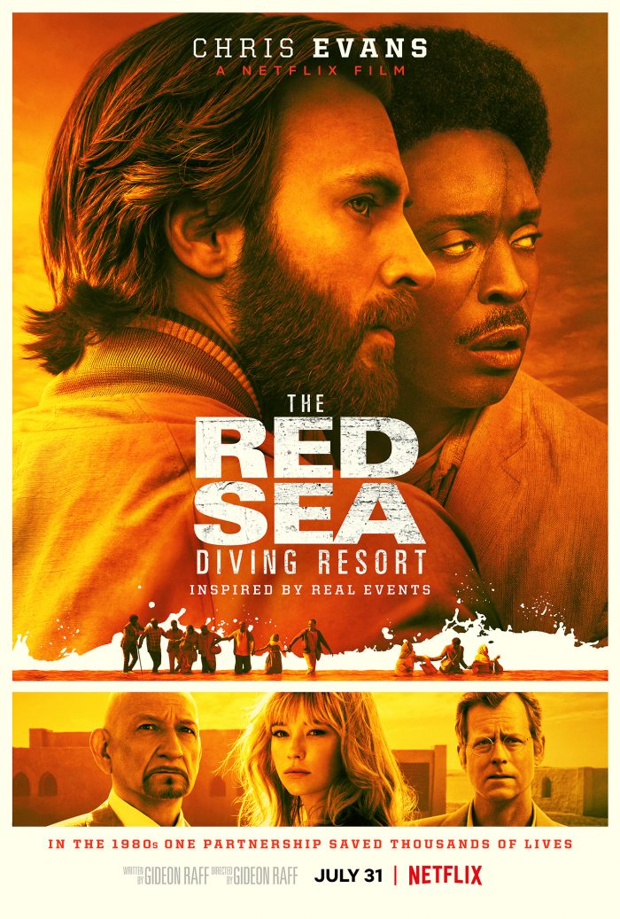 "The official poster of Netflix's ""The Red Sea Diving Resort"""