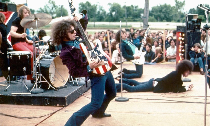 MC5 on stage 1969