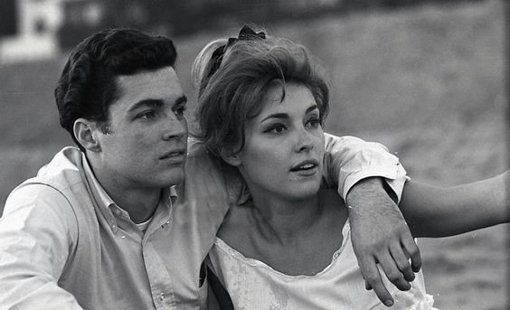 Richard Beymer and Sharon Tate