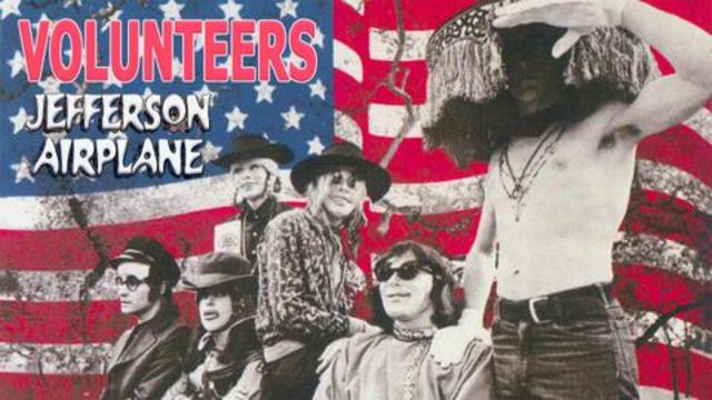 Jefferson Airplane, Volunteers album artwork